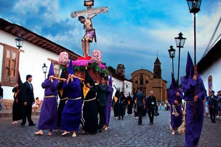 procesion del silencio patzcuaro