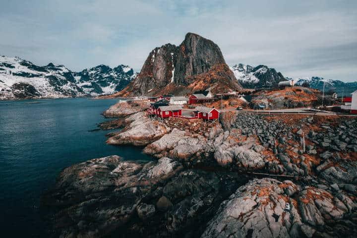Pueblos hermosos de Noruega: Foto. John O`Nolan
