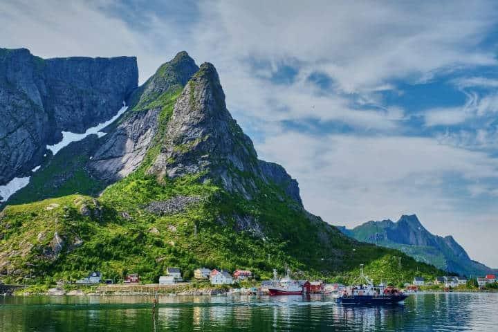 Pueblos hermosos en Noruega. Foto: Jessica Pamp