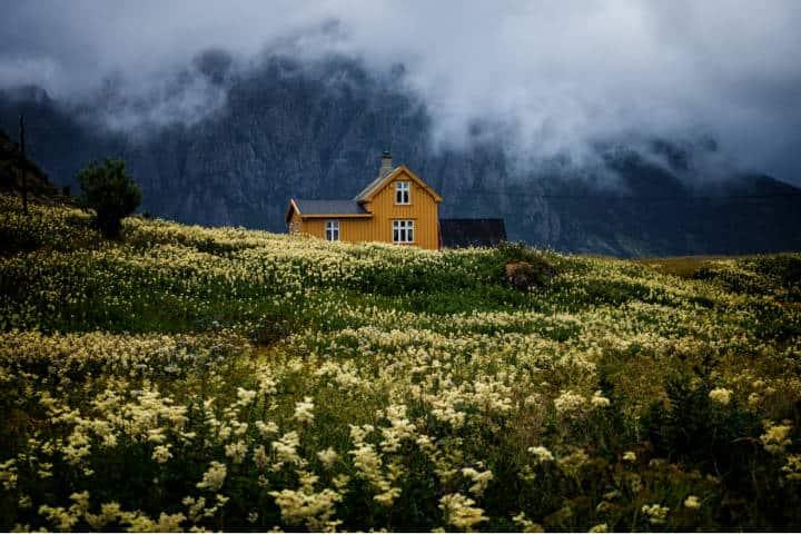 Pueblos hermosos en Noruega. Foto: Vidar Nordli-Mathisen