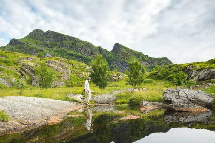 Pueblos hermosos en Noruega. Foto: Colin Moldenhauer