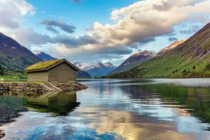 Pueblos hermosos en noruega. Foto: Damis Spanic