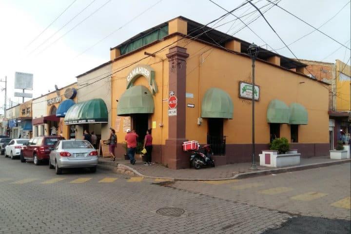 restaurante camahuer donde comer en compostela
