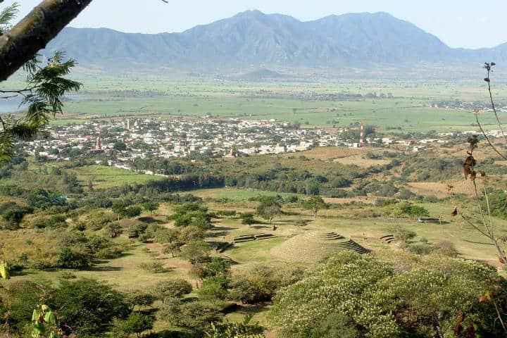 Zona arqueológica los guachimontones Foto Edifica