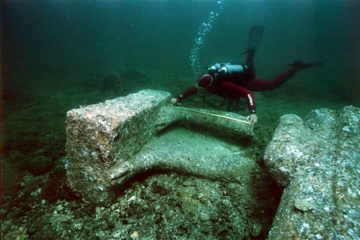 heracleion egipto descubrimiento