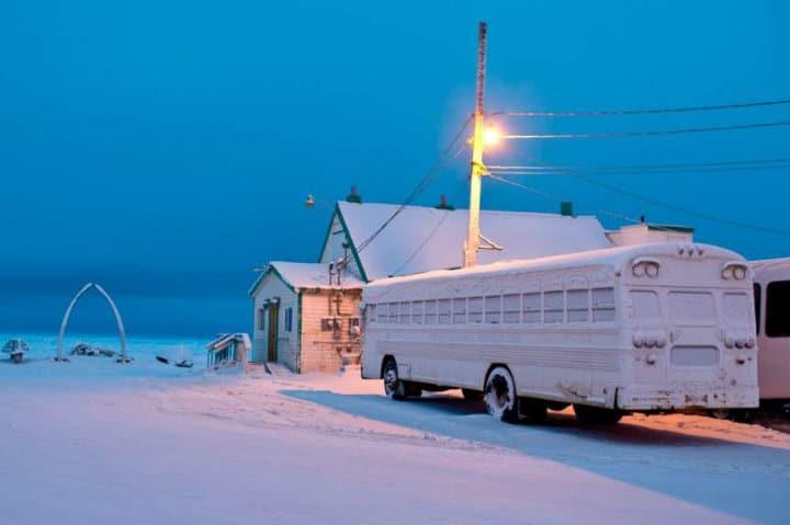 noche polar alaska