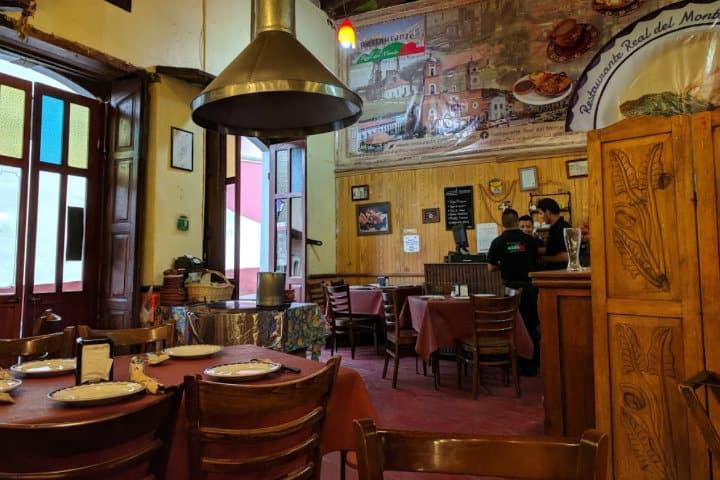 restaurante real del monte real del monte