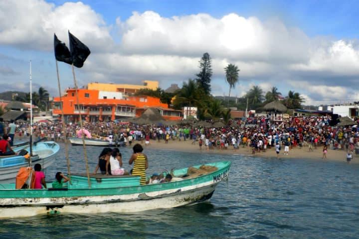 Fiesta patronal Señora de la Paz. Foto