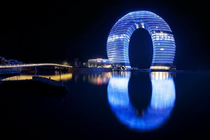 sheraton huzhou infinito