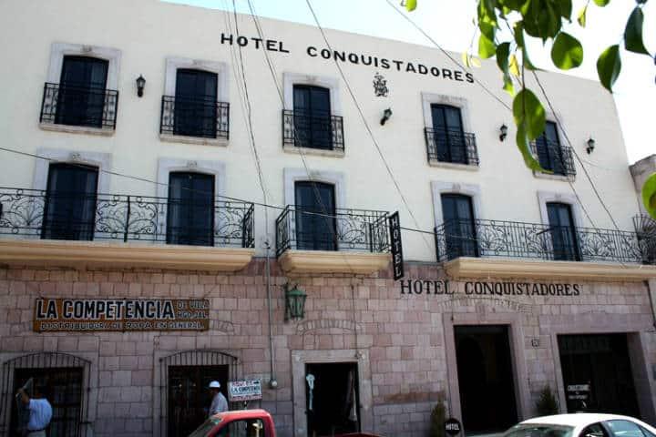 Donde hospedarse en Guadalupe Foto Hotel Conquistadores