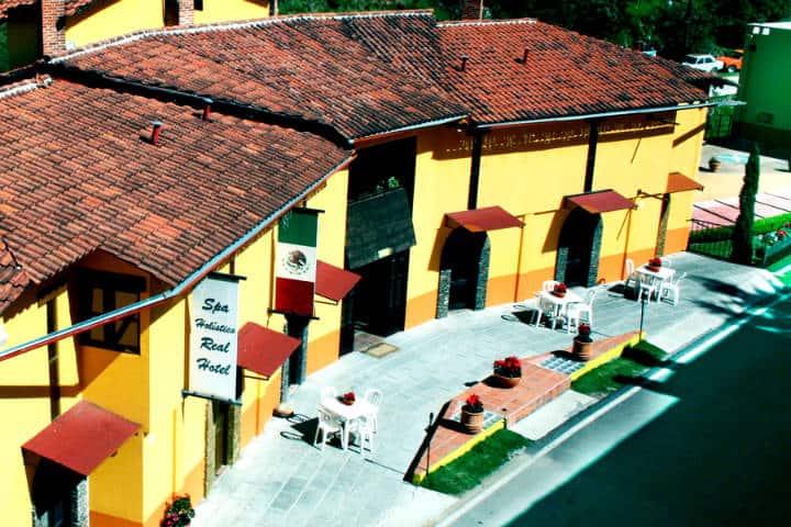 Donde hospedarse en real del monte Foto Spa Holistico Real Hotel