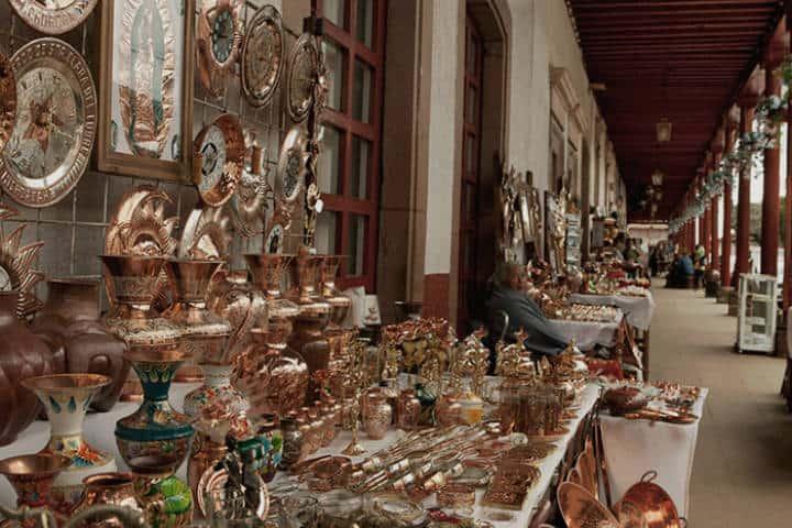 Feria Nacional de Cobre. Foto La Voz de Michoacán