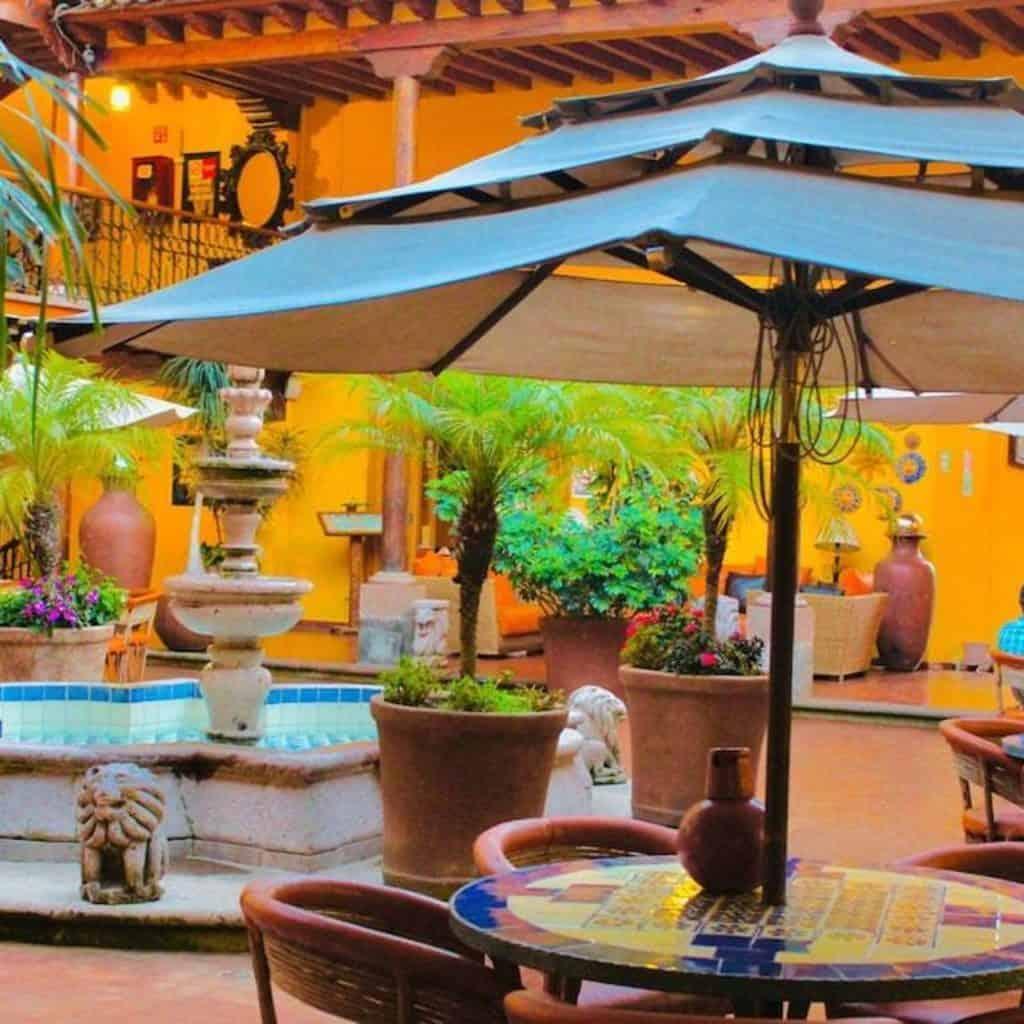 Dónde hospedarse en Pátzcuaro Michoacán.