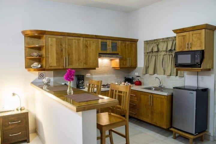 Habitación. Foto: Bugambilias Suites