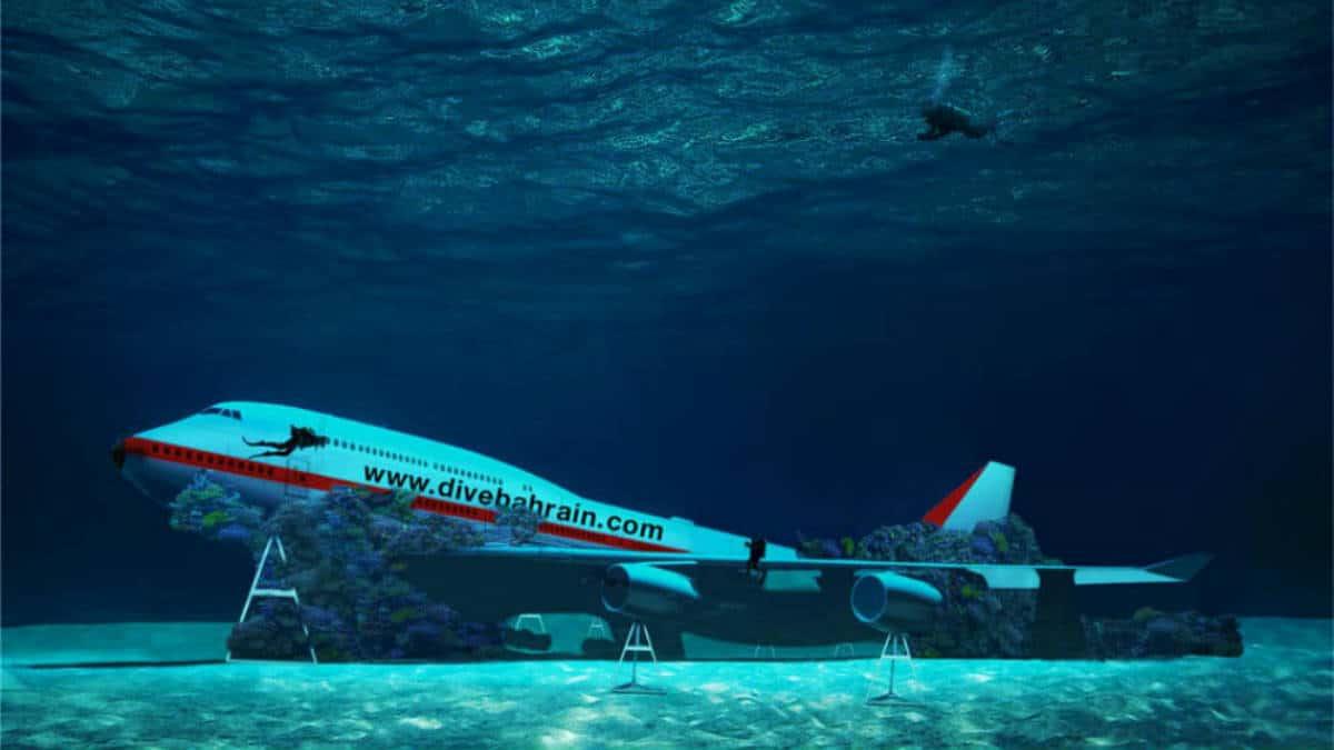 Parque submarino temático en Baréin. Foto. Archivo 1