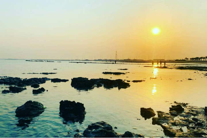 Parque submarino temático en Baréin. Foto: Tarek Suman