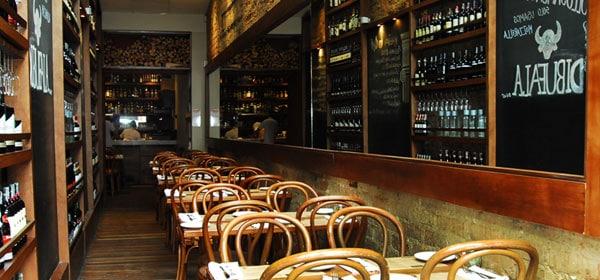 Restaurante de pizzas en Bogotá Colombia. Restaurante Julia. Foto: The food y the city
