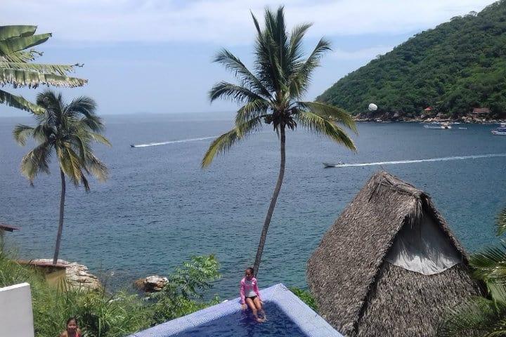 donde hospedarse en yelapa villas bella orquidea