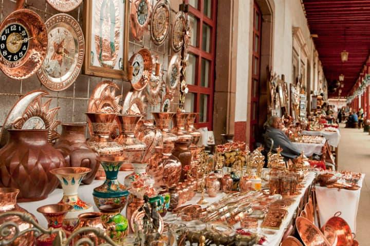 artesanías de cobre