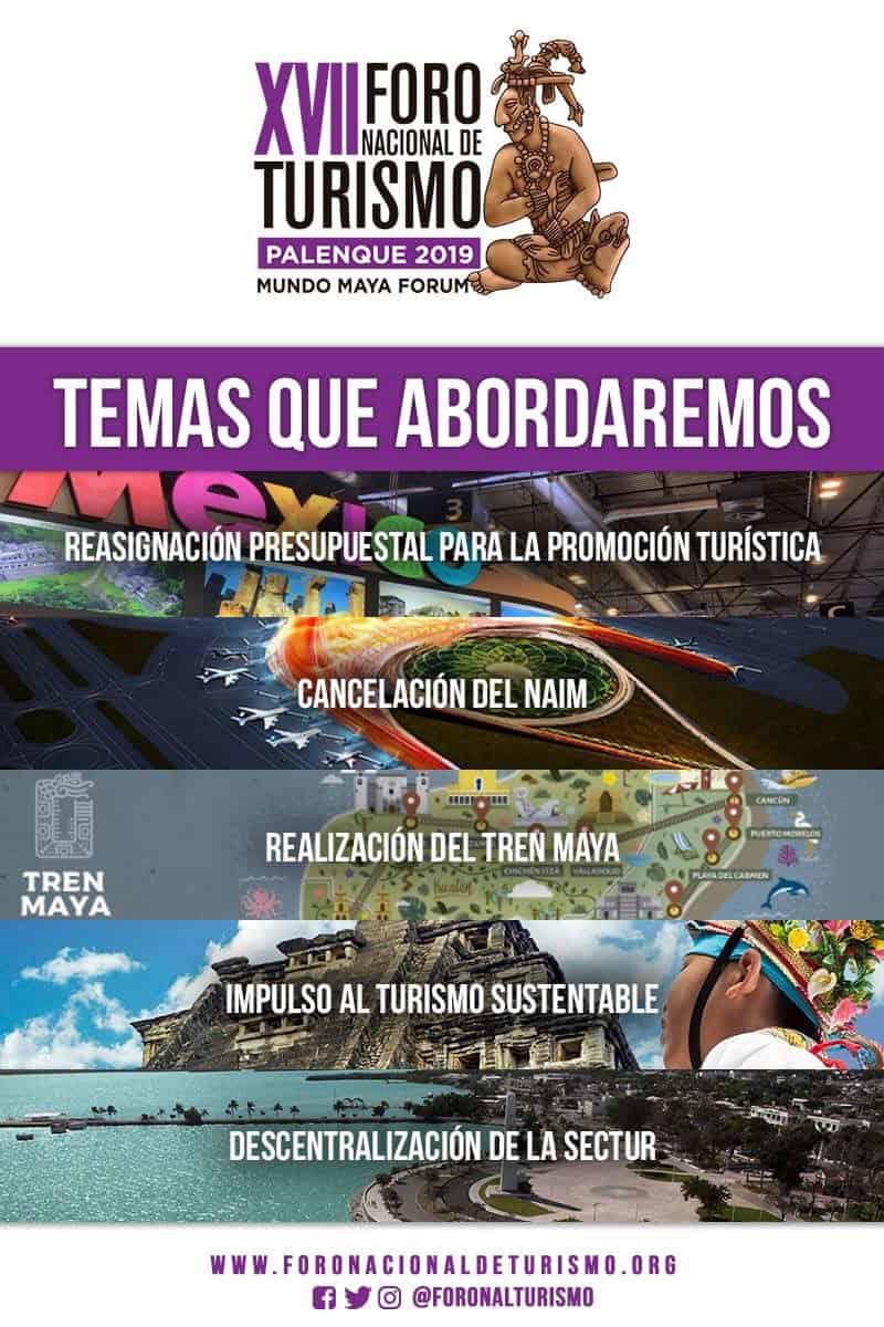 cancelan foro nacional de turismo