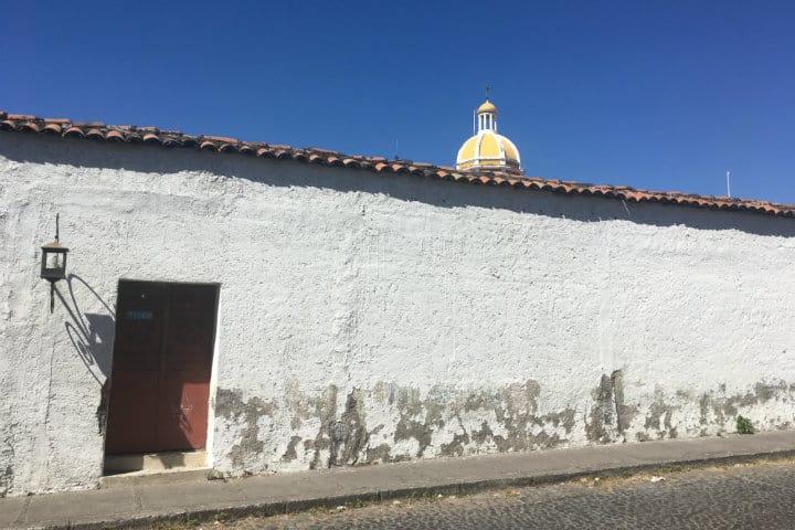 fachada de comala