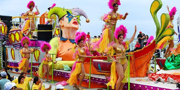 Carnaval de Cozumel.  Foto: Dospuntosrevista