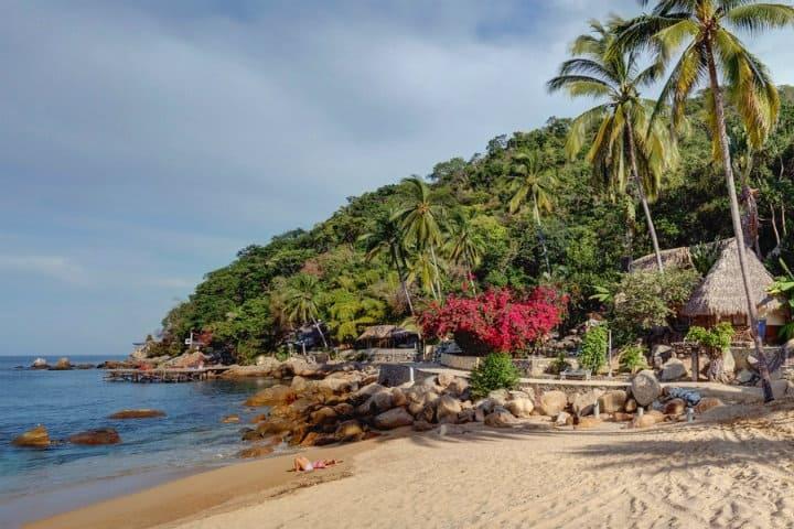 donde hospedarse en Yelapa, hotel lagunita