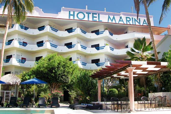 Hotel marina la paz donde hospedarse en balandra