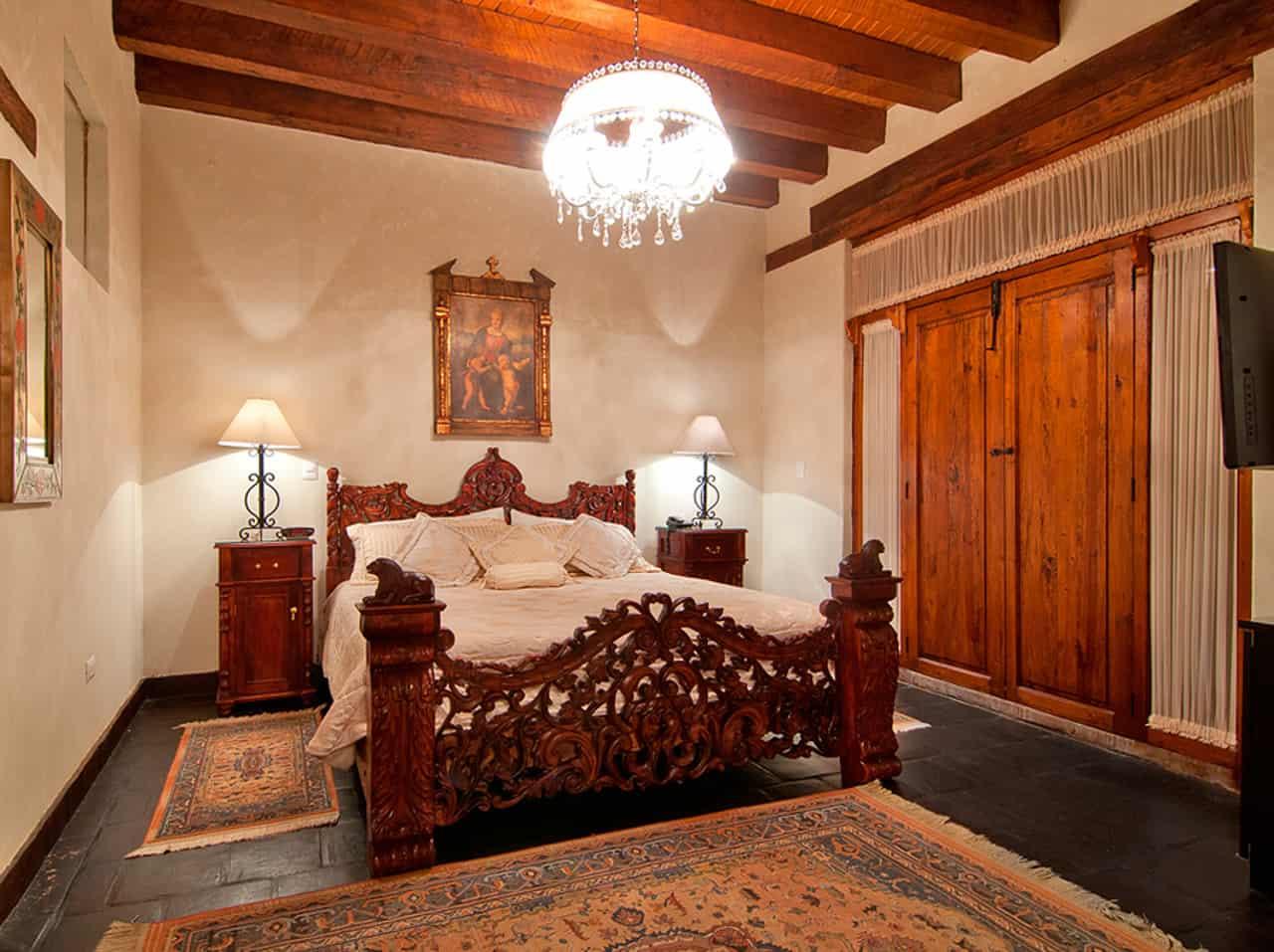 Dónde hospedarse en Pátzcuaro Michoacán. Hotel Mansión de los sueños. Foto: Mansión de los sueños
