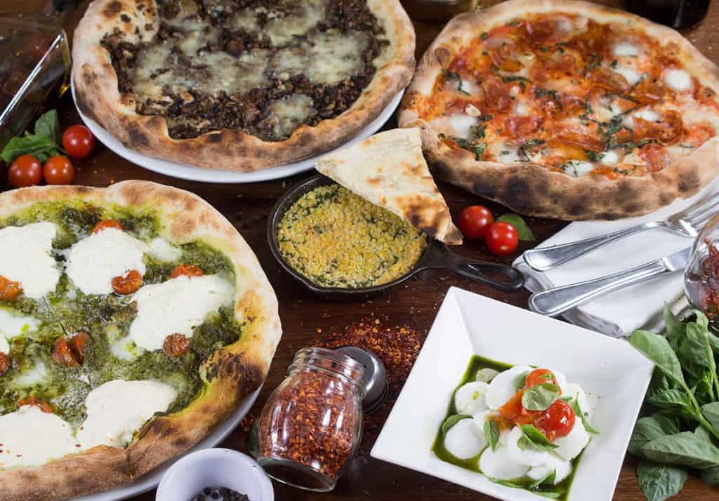 restaurante para comer pizza
