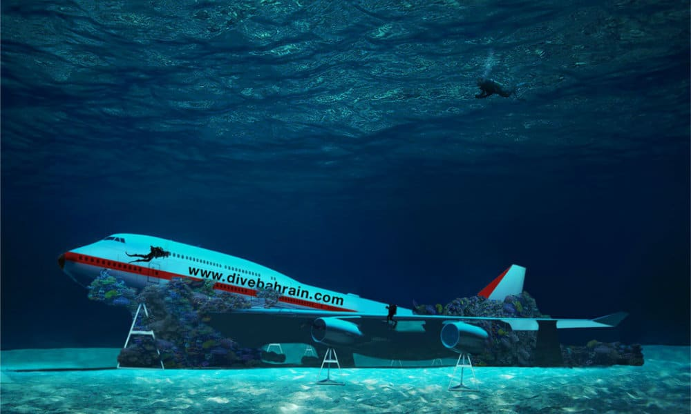 parque submarino baréin