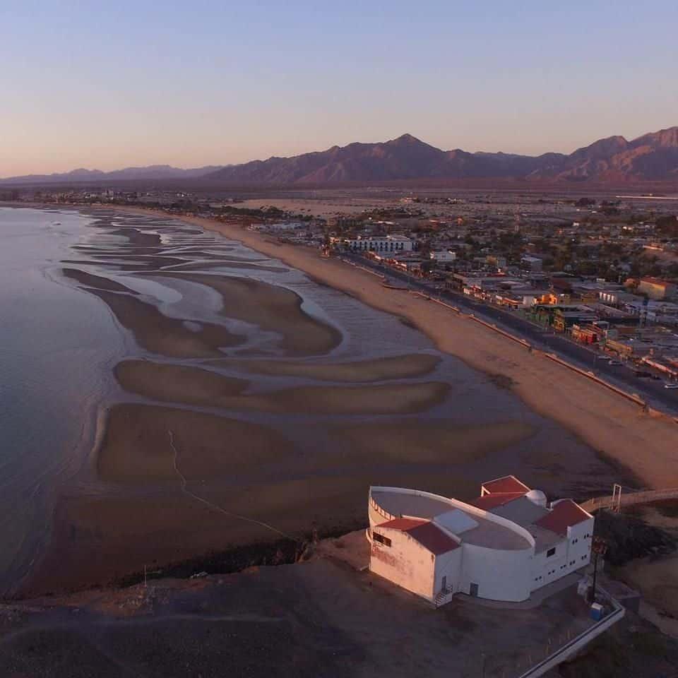 Vista hermosa en San Felipe Baja California. Foto: Descubre San Felipe