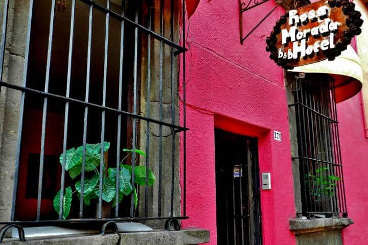 ¿Dónde hospedarse en Tlaquepaque Foto Rosa Morada?