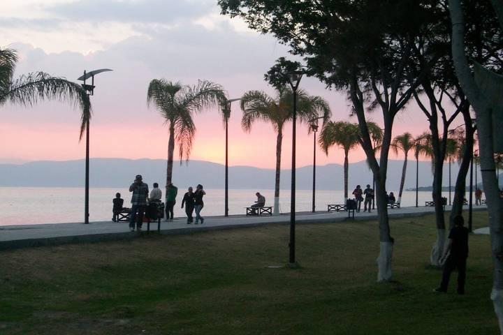 Malecón Ajijic. Foto Ajijic Jalisco