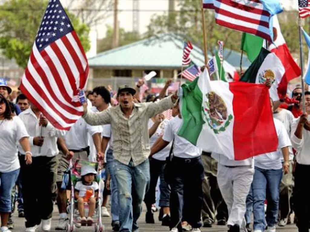Mexicanos y Estados Unidos. Foto: Posta