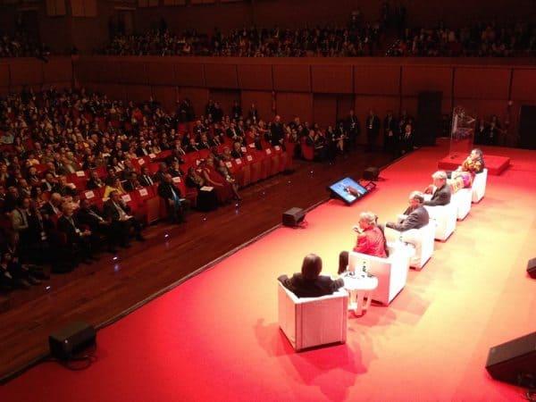 Premios Nobel de la Paz en Roma. Foto: Pressenza
