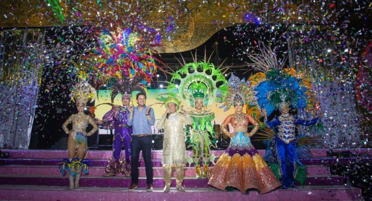 Carnaval en Parque Quintana Roo. Foto: PuntoMedio