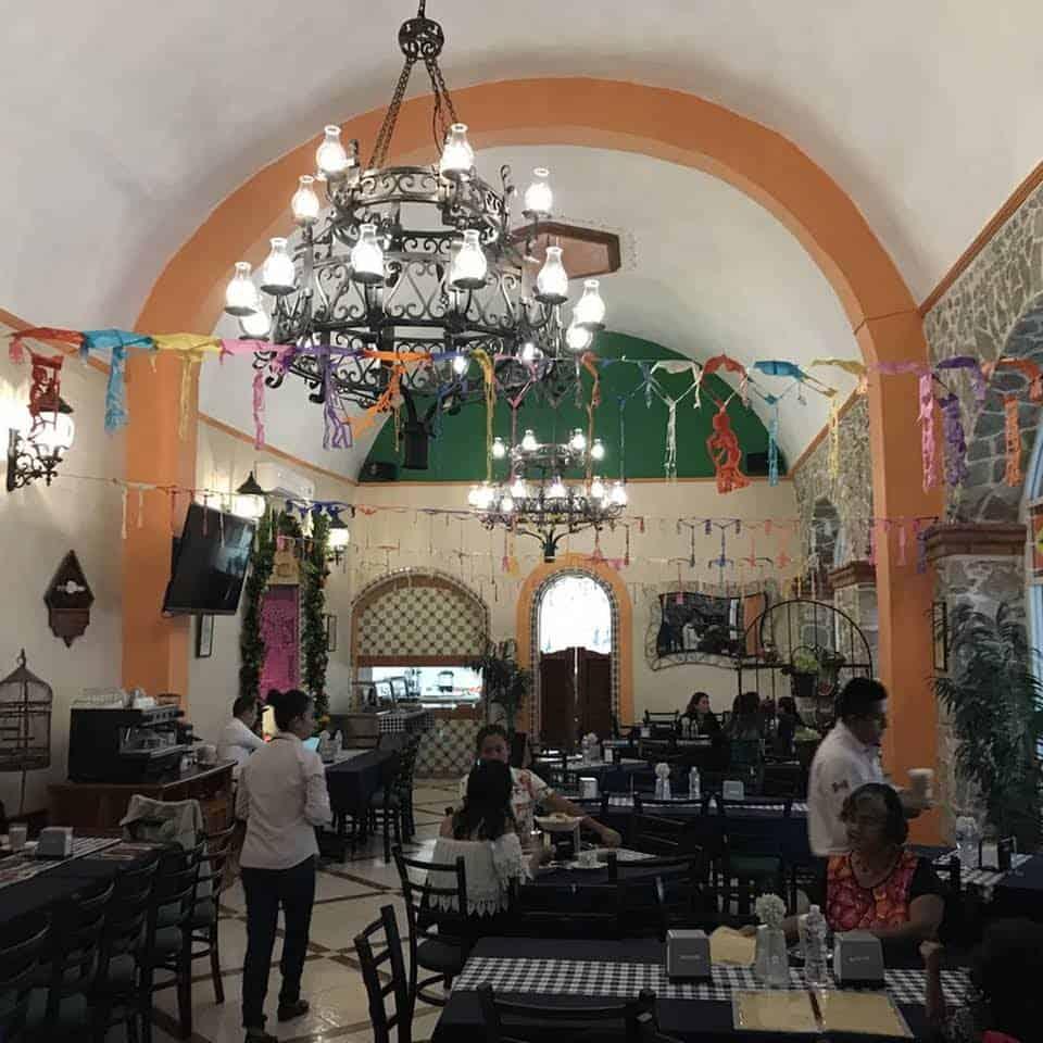 Donde comer en Papantla Veracruz. Foto: Restaurante la Parroquia