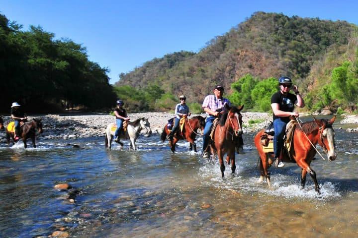 paseo a caballo por yelapa