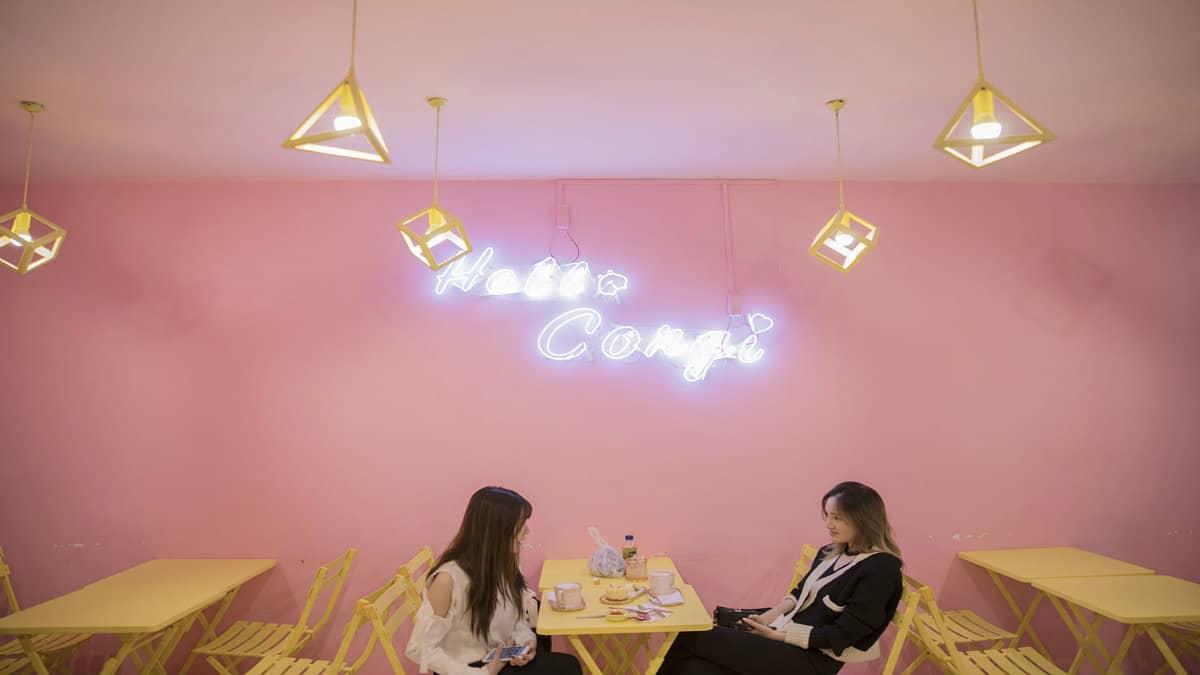 cafeteria en shangai