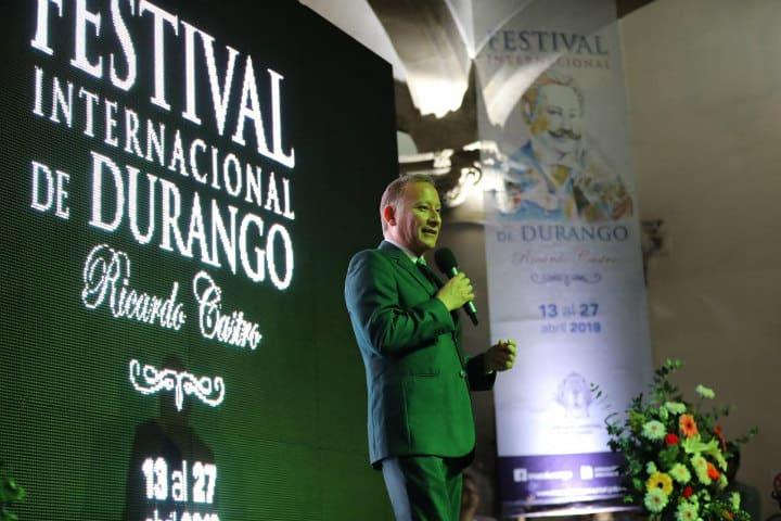 Festival internacional en Durango.