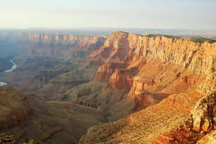 Gran cañón Colorado. Foto El Souvenir
