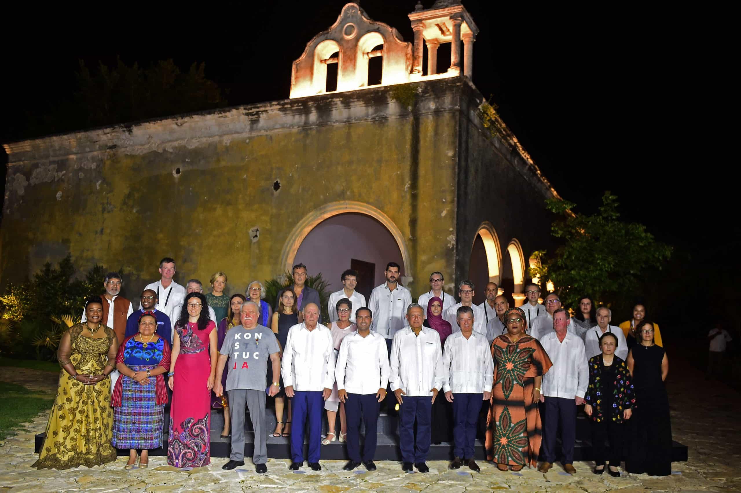 Premios Nobel en Yucatán. Foto: Infobae