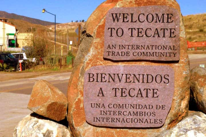 Cómo llegar a Tecate Foto Gabriel