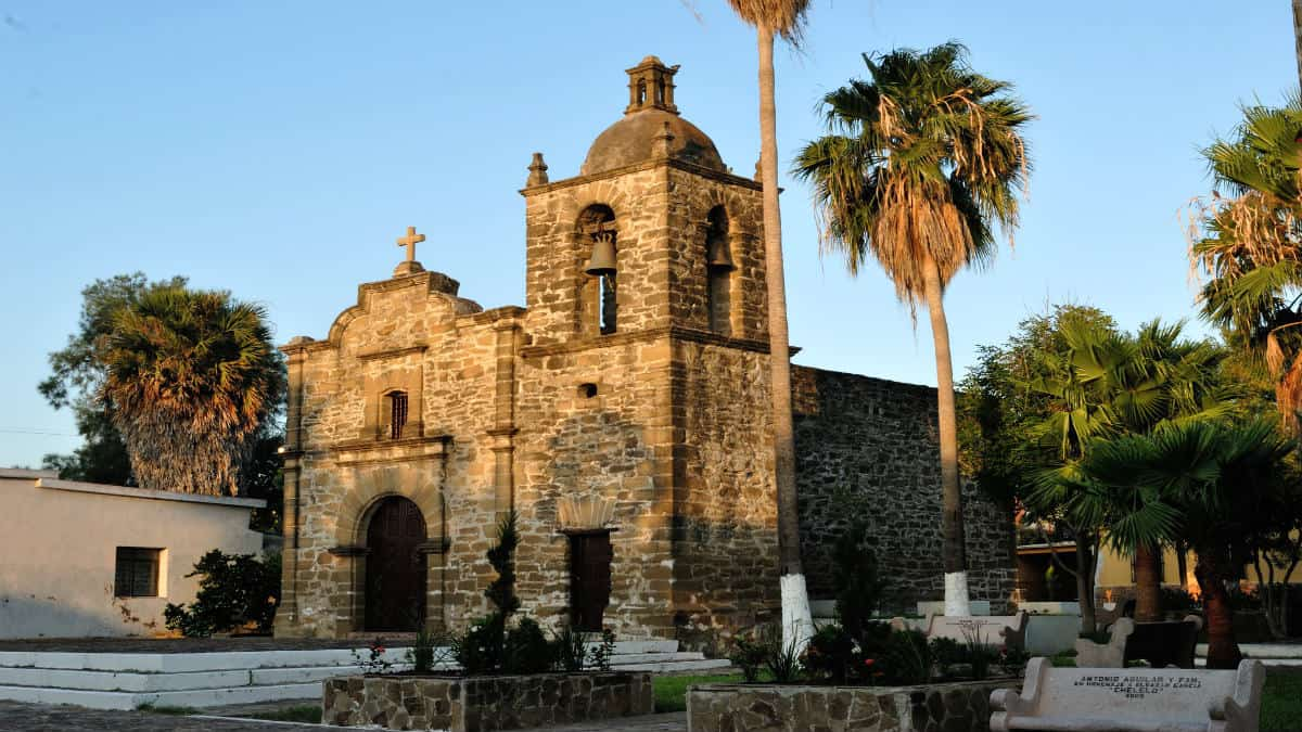 Capilla de San Juan Bautista. Foto Secretaría de Turismo de México