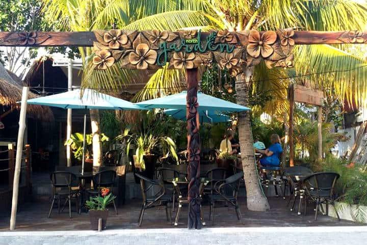 Dónde comer en isla mujeres Foto North Garden
