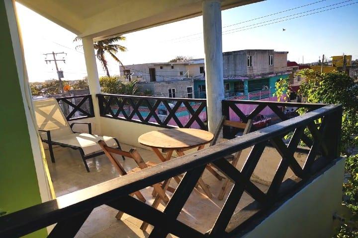Dónde hospedarse en Isla Mujeres Foto Casa del sol