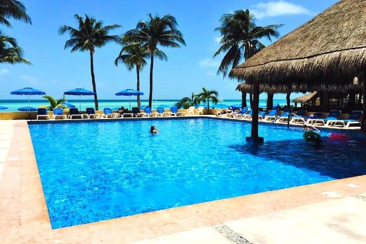 Dónde hospedarse en Isla Mujeres Foto Nautubeach