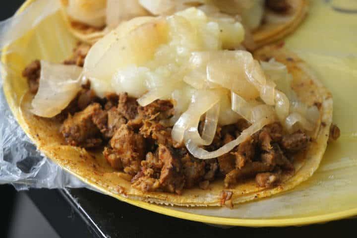 Tacos El chupacabras. Foto: Daniel Ferrod
