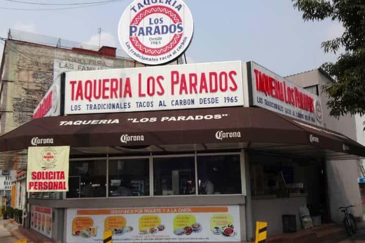 Taqueria Los Parados. Foto: tips para tu viaje